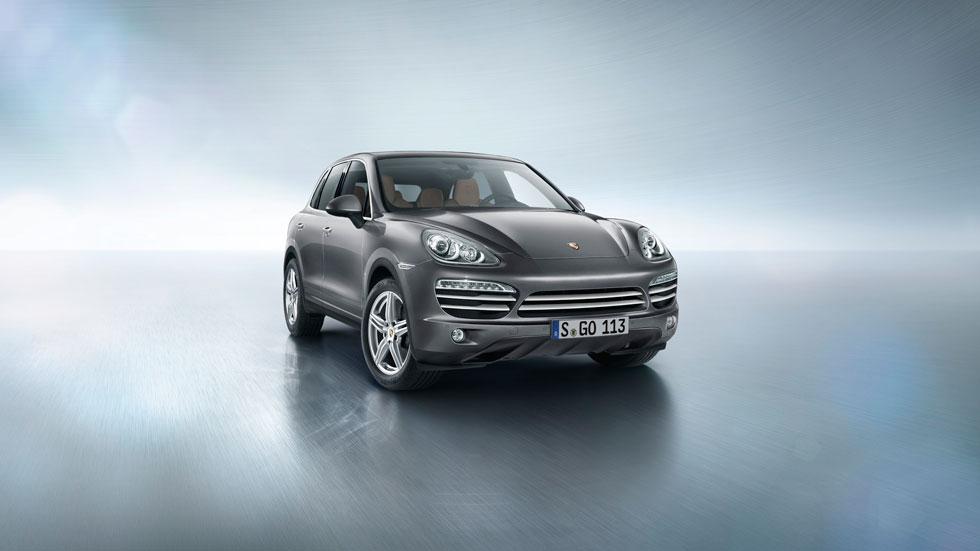 Porsche Cayenne Platinum Edition, elegancia SUV
