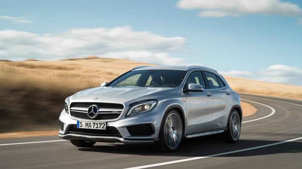 Precio del Mercedes GLA 45 AMG, por 64.900 euros