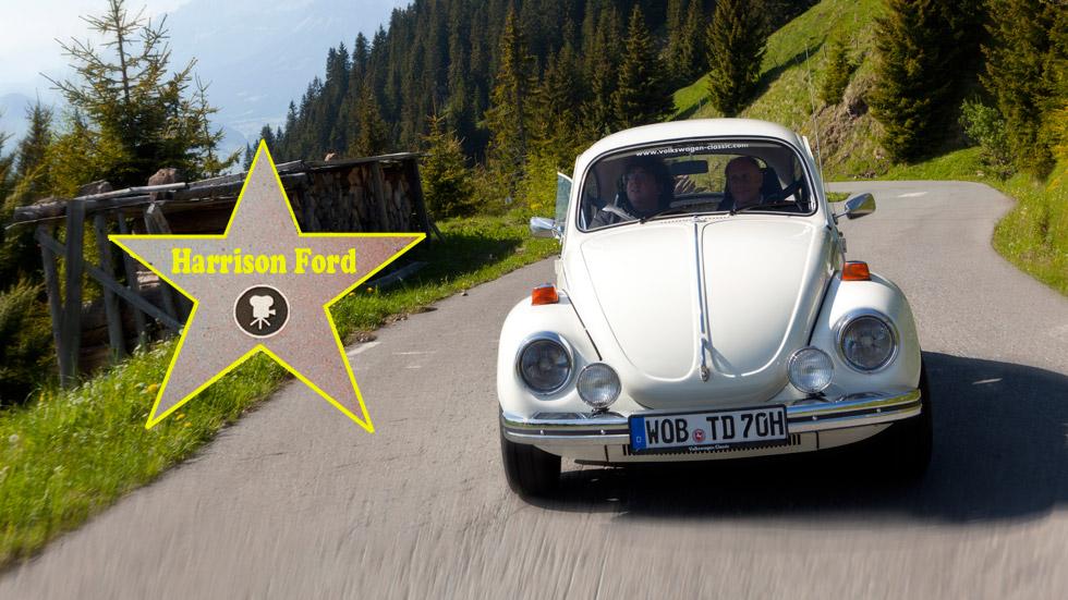El primer coche de los famosos: Harrison Ford (VW Beetle)