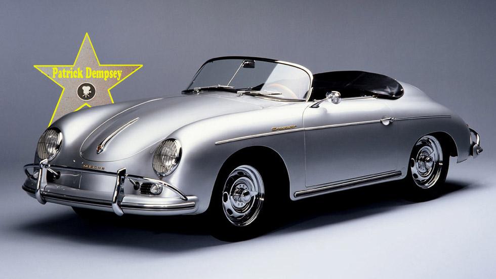 El primer coche de los famosos: Patrick Dempsey (Porsche 356)