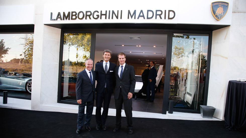 Primer concesionario de Lamborghini en Madrid
