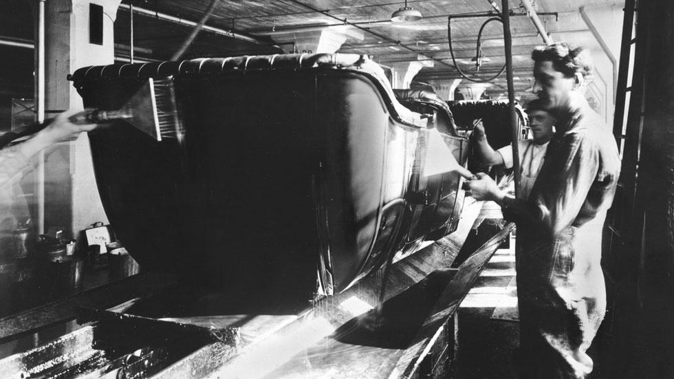 1914: 100 años de la primera cadena de montaje. Ford Highland Park