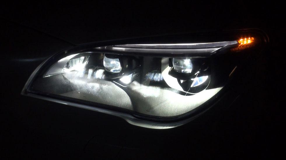 Probamos los faros láser de BMW