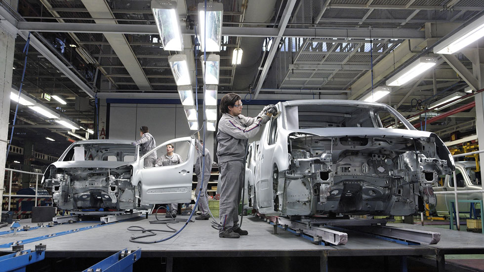 La producción de coches en España crecerá un 10% este año