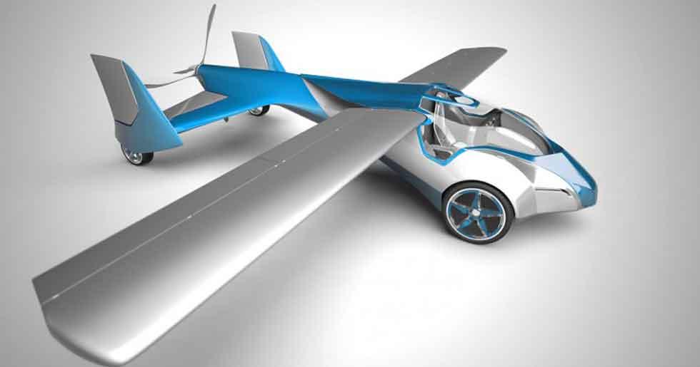 Aeromobil 2.5, el primer coche que vuela. Vídeo