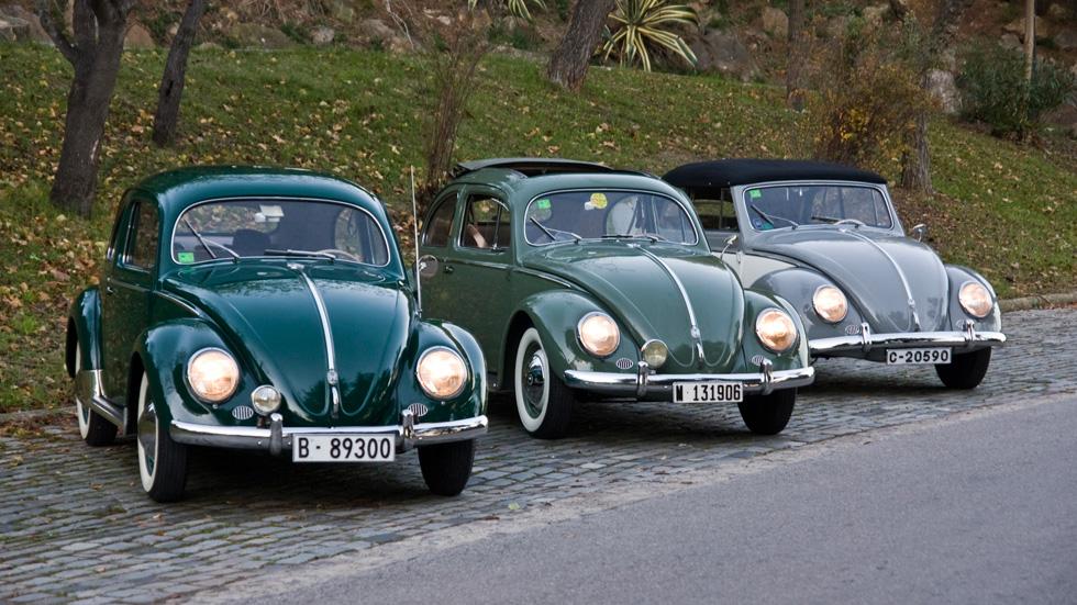 Prueba clásica: Volkswagen Escarabajo Sedán, Sunroof y Cabriolet