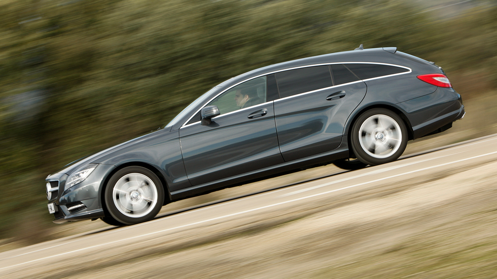 Prueba: Mercedes CLS Shooting Brake 350 CDI