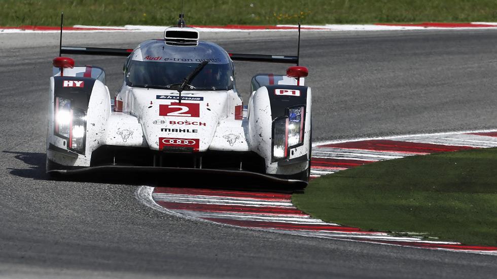 Prueba racing: Audi R18 e-tron quattro, el ganador de Le Mans 2014