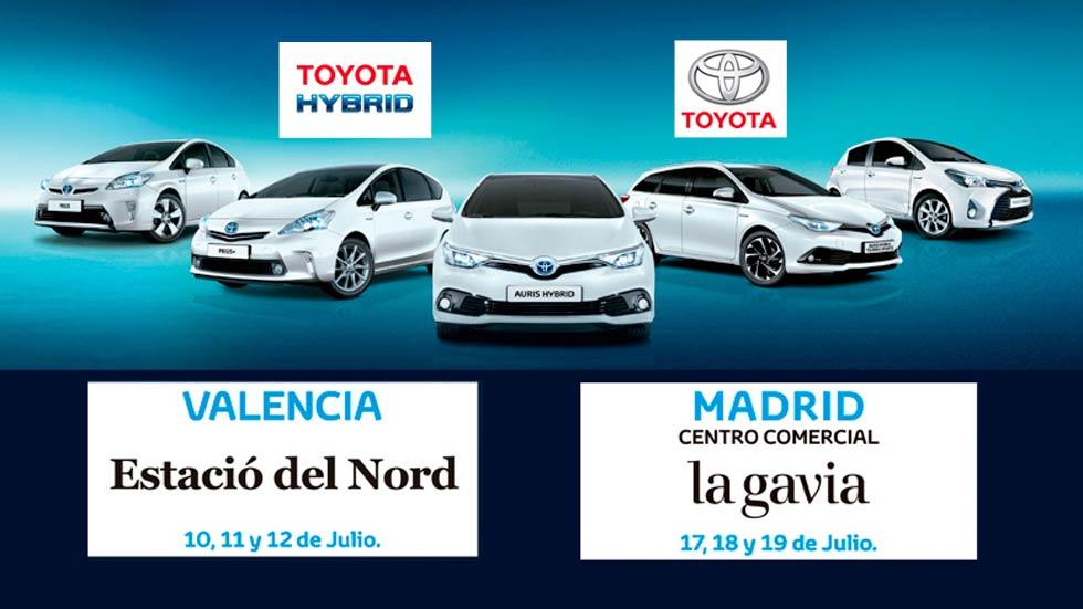 ¿Quieres probar un híbrido de Toyota totalmente gratis?