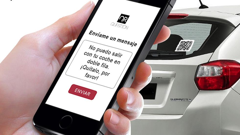 Un código bidi que puede salvar a tu coche de la grúa