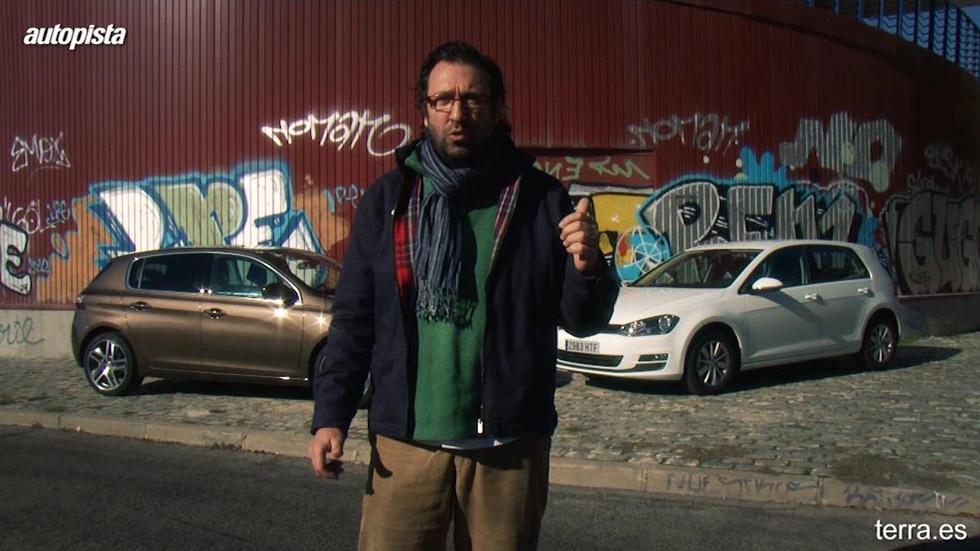 Videoguía: ¿Qué coche me compro? VW Golf vs Peugeot 308
