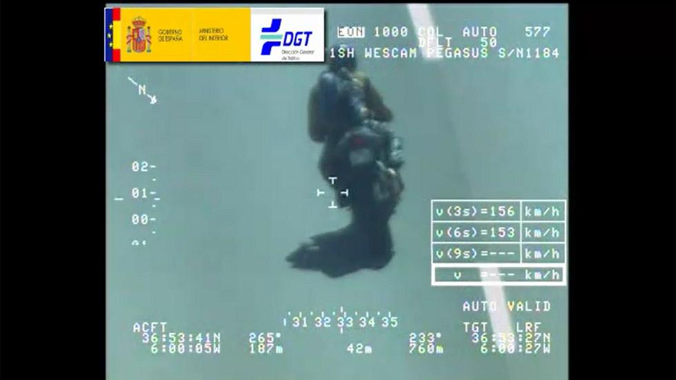 Videonoticia: así caza el radar Pegasus a los motoristas durante el GP de Jerez