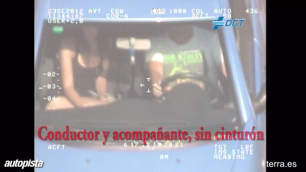 VÍDEO: Imprudencias en el coche, 'cazadas' por el radar Pegasus