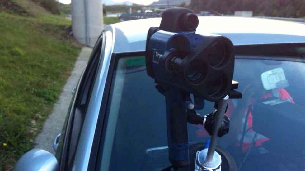 El radar de pistola llega al País Vasco