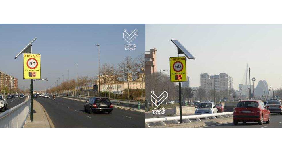 Los radares que no multan llegan a Valencia