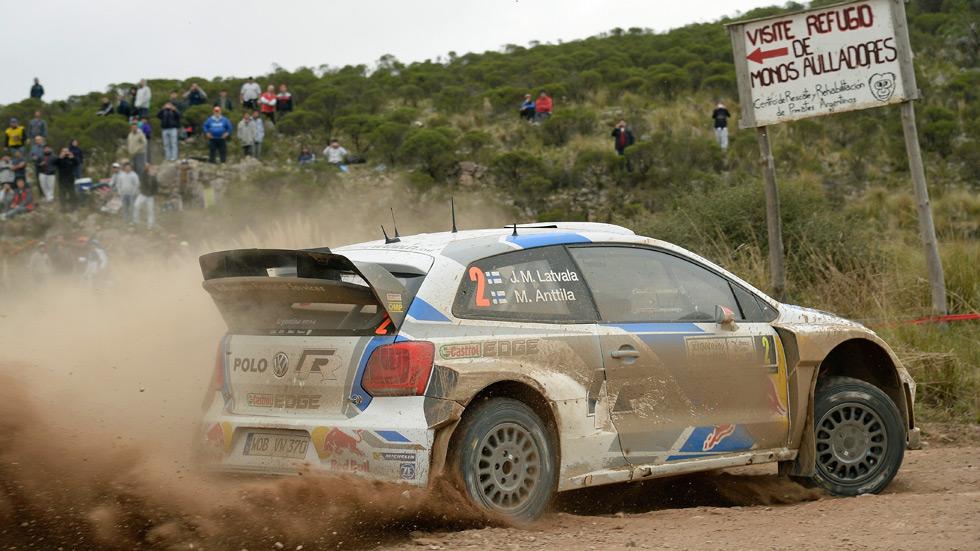 Rallye de Argentina - sábado: Latvala contiene a Ogier