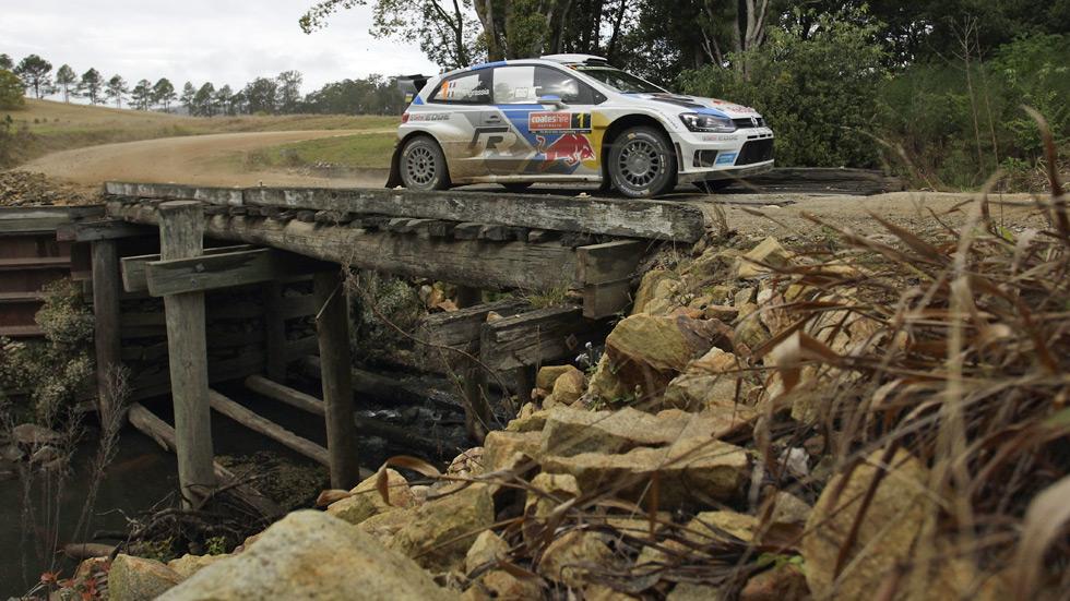 Rallye de Australia - sábado: Ogier se afianza en cabeza