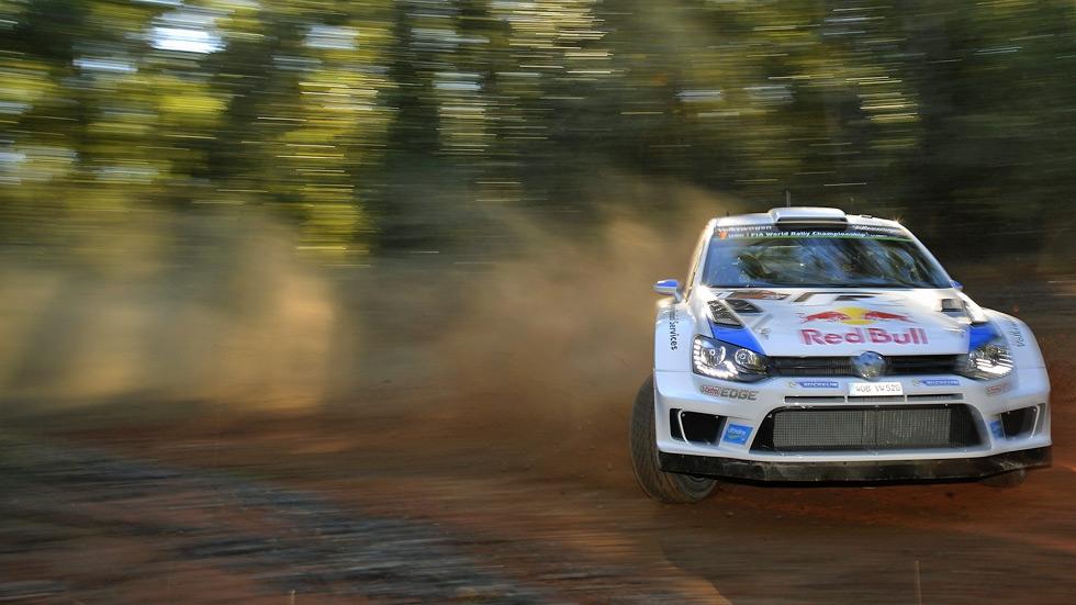 Rallye de Australia - vienes: Sébastien Ogier toma la iniciativa
