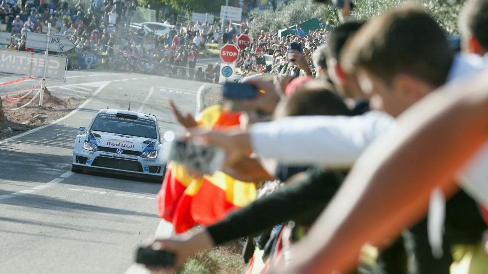 Rallye de España - sábado: Ogier controla en cabeza