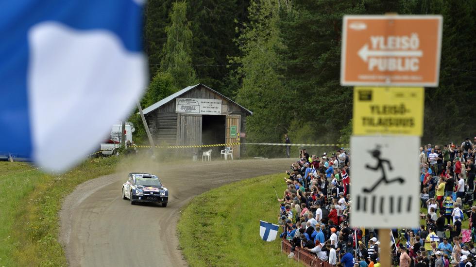 Rallye de Finlandia - sábado: Latvala resiste los envites de Ogier