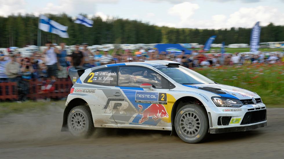 Rallye de Finlandia - viernes: Latvala se escapa en cabeza