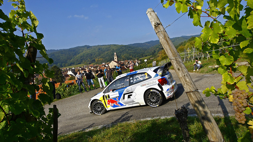 Rallye de Francia - final: Latvala se estrena sobre el asfalto