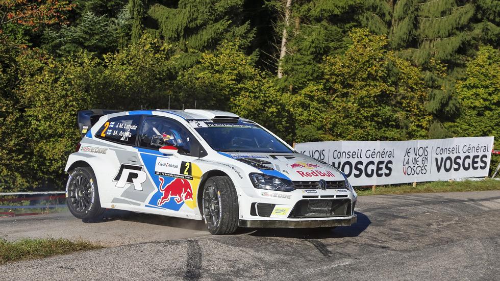 Rallye de Francia - sábado: Latvala controla a Mikkelsen