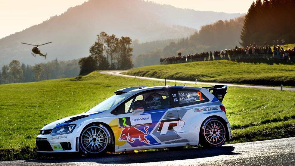 Rallye de Francia - vienes: Latvala cierra la primera etapa en cabeza