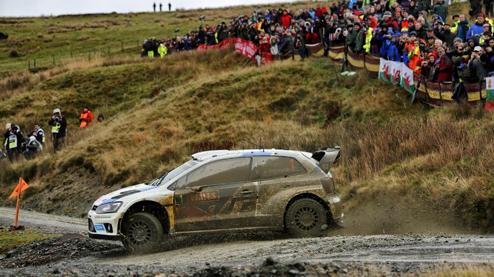 Rallye de Gales - sábado: Ogier apunta a la octava victoria de la temporada