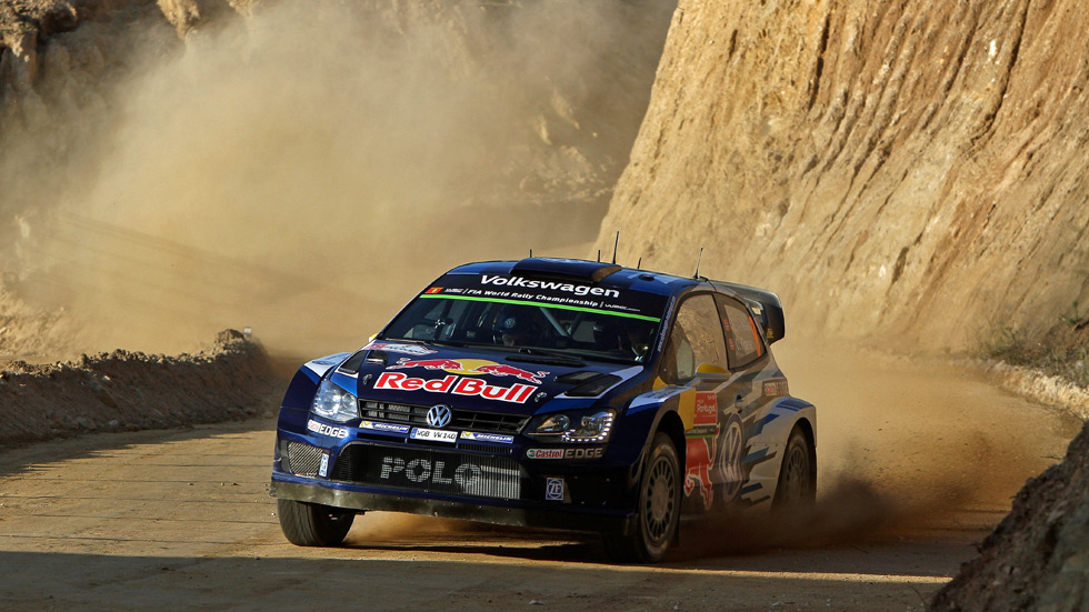 Rallye de Portugal - jueves: De aperitivo, triplete Volkswagen