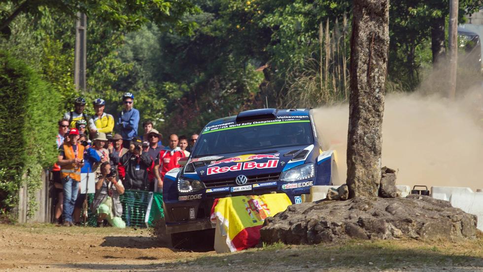 Rallye de Portugal - sabado: Latvala lidera el cuarteto de aspirantes a la victoria