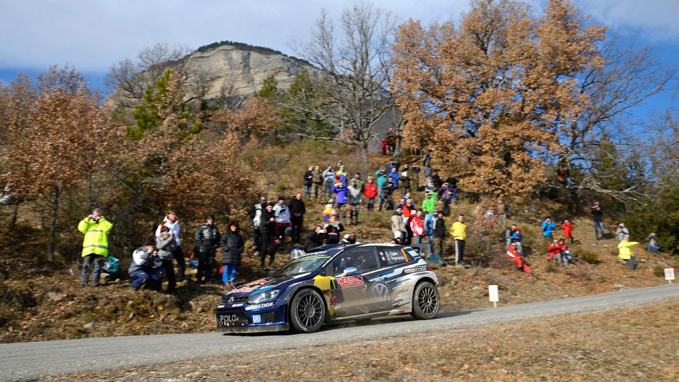 Rallye de Montecarlo – sábado: Ogier lidera, Latvala recorta, Sordo avanza