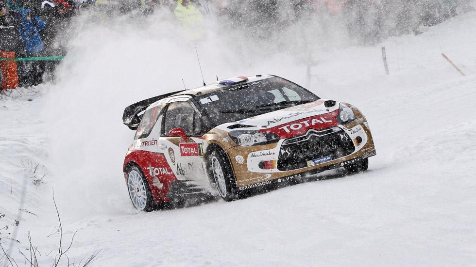 Rallye de Montecarlo 2ª etapa: Loeb, firme al mando de la carrera