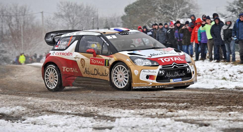 Rallye de Montecarlo 1ª etapa. Loeb contra Ogier: vuelve el clásico