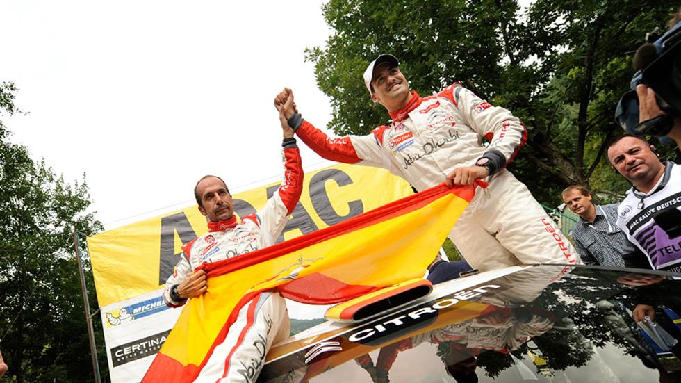 Rallye de Alemania – final: Sordo, vencedor