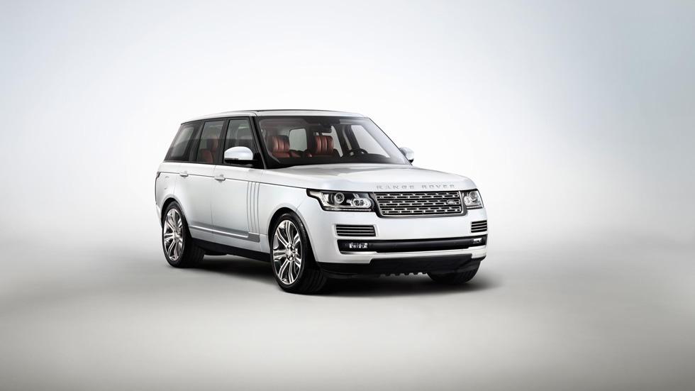 Range Rover de batalla larga, lujo a lo grande