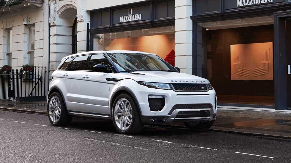 Range Rover Evoque 2016, con los nuevos motores Ingenium (precios)