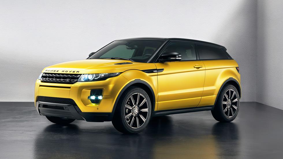 Range Rover Evoque 'Sicilian Yellow',novedad en Barcelona