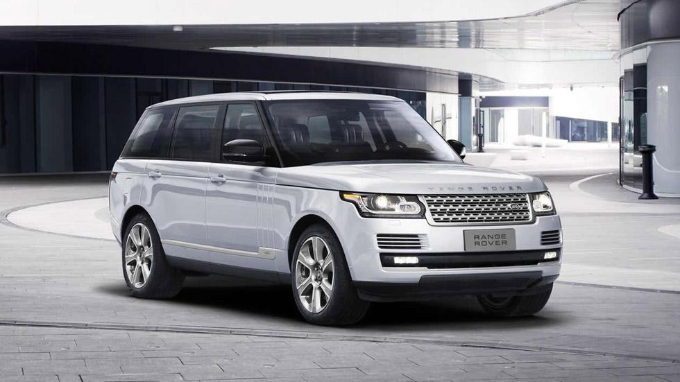 Range Rover Hybrid de batalla larga: aún más espacio