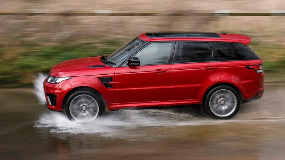 Primera prueba: Range Rover Sport SVR, tres en uno