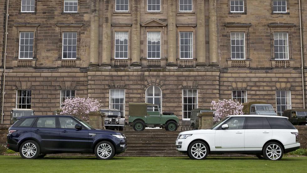 Range Rover y Range Rover Sport, más tecnología a bordo