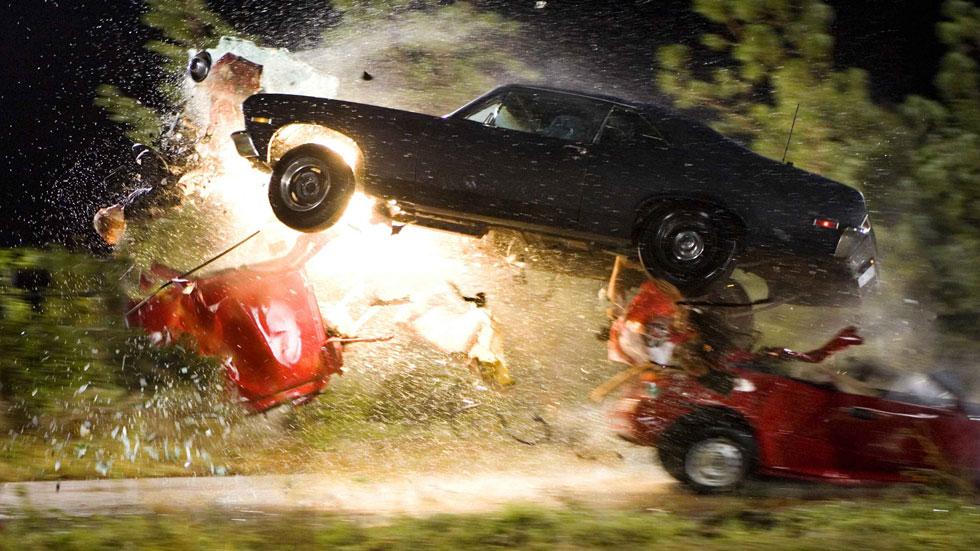 Las 10 películas en las que más coches se destruyen