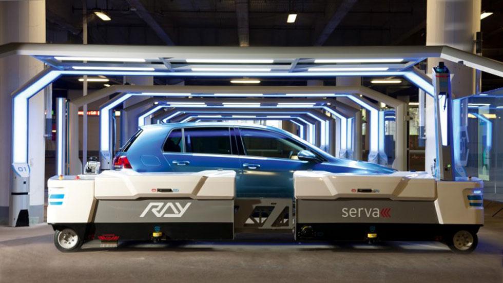 Ray, el robot aparcacoches
