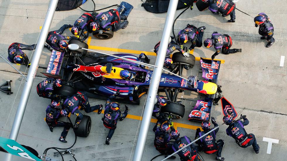 Red Bull consiguió el 'pit-stop' más rápido de la historia