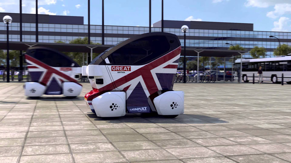 Reino Unido comienza a experimentar con coches sin conductor