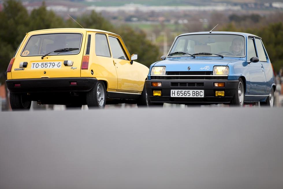 Prueba clásica: Renault 5 Copa y Alpine