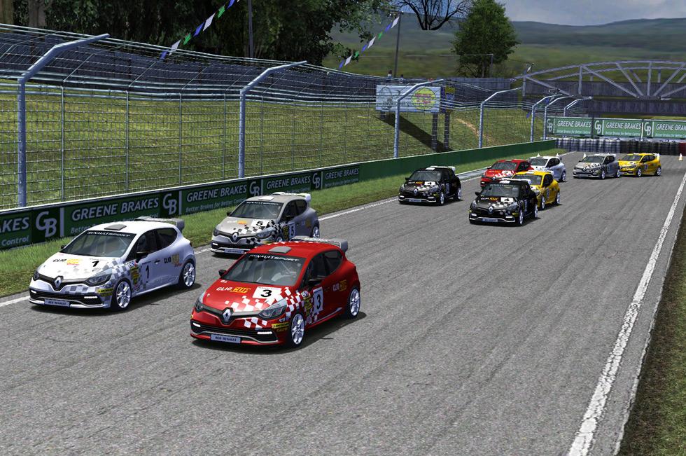 Renault Clio Cup 'online': de carreras por la red