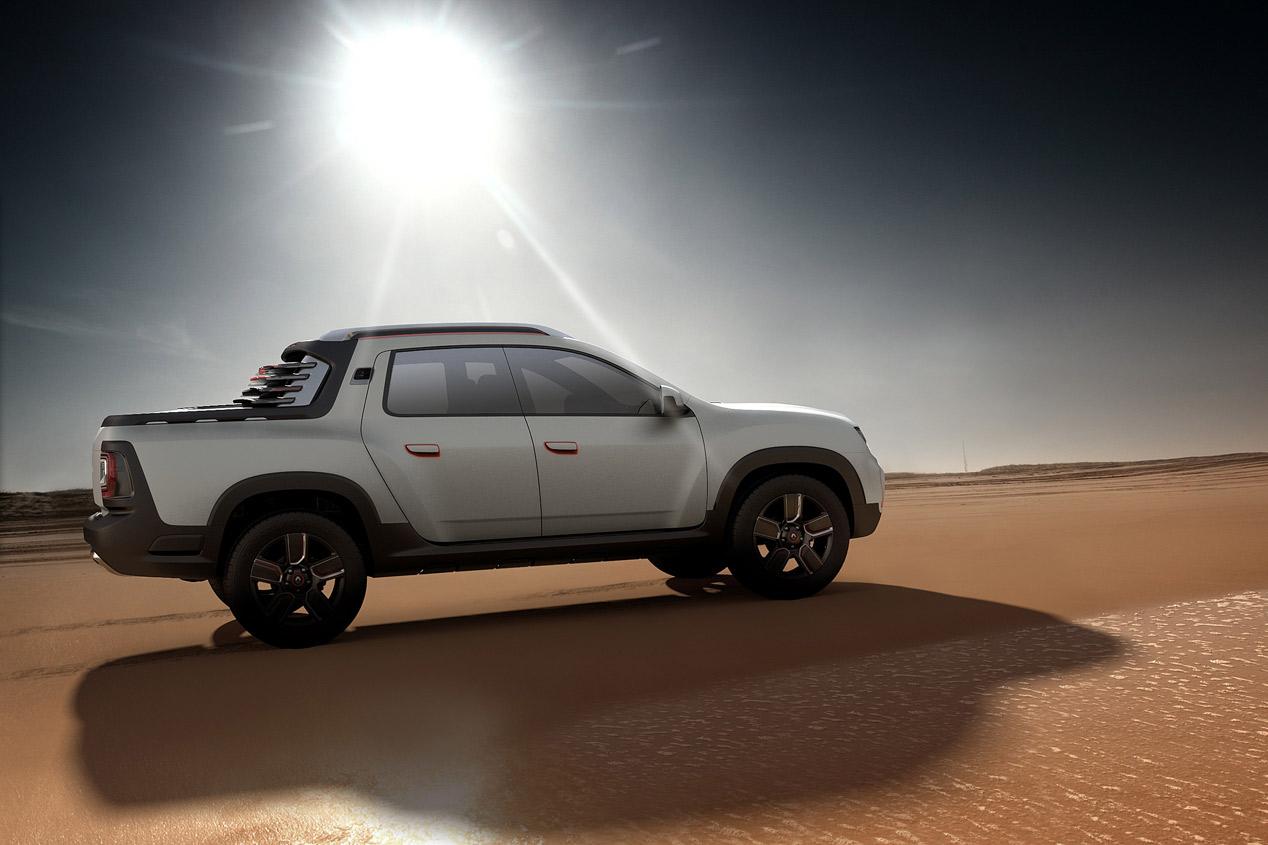 Renault Duster Oroch, para el ocio y la diversión