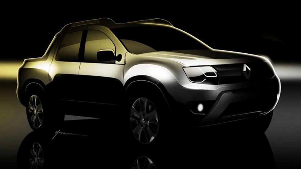 Renault confirma el Duster pick up, primeras fotos