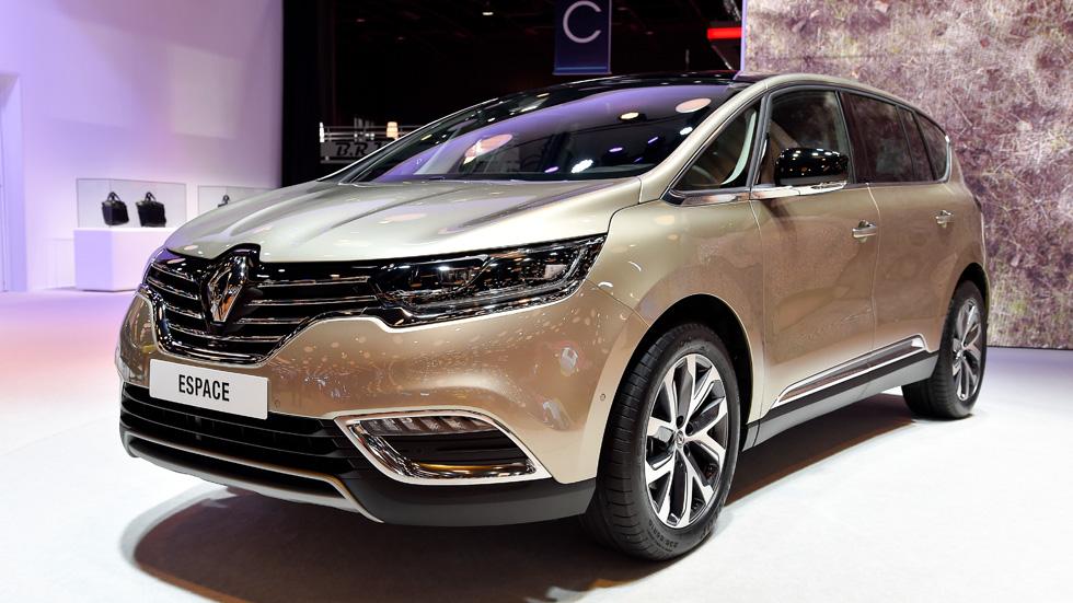 Renault Espace 2015, fotos y detalles principales